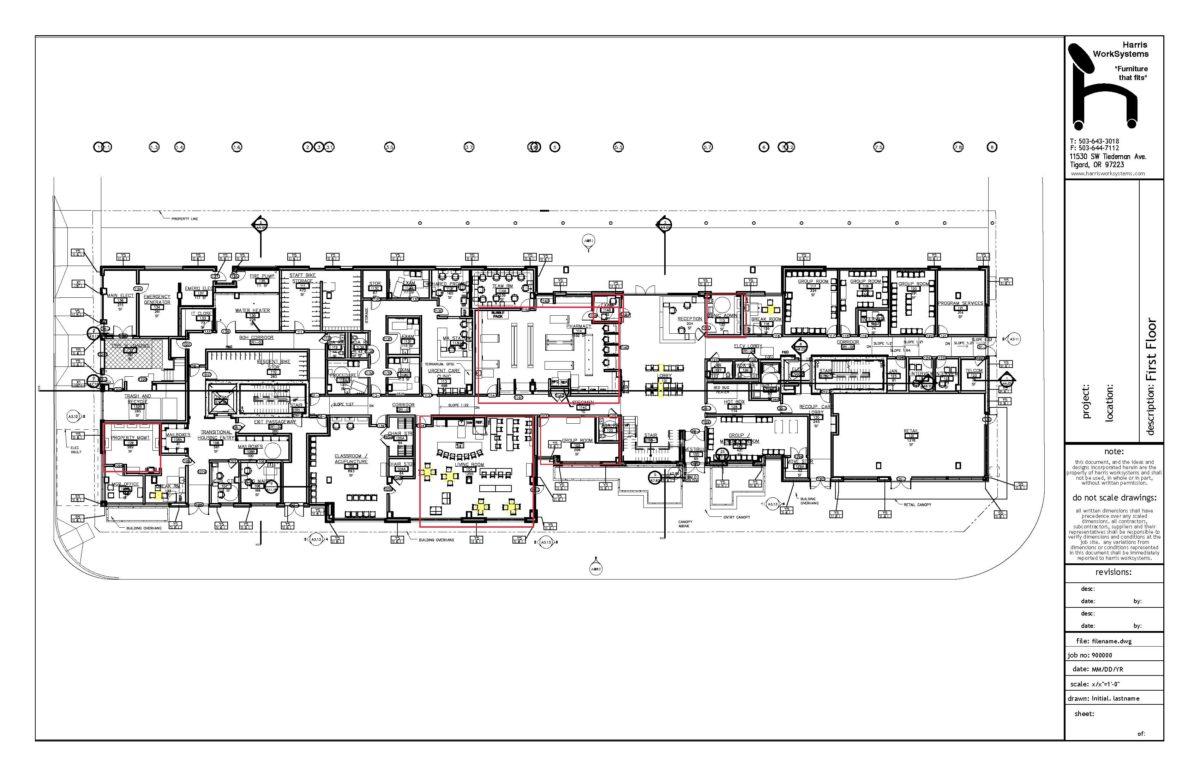 Blackburn 1st Floor Harris WorkSystems